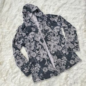 Lucky Brand Open Front Hoodie